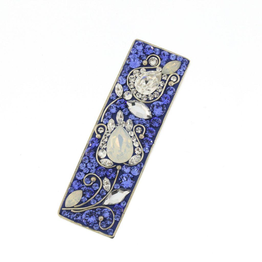 Colier-Katart-Blue-White-Tulip-Ribbon-K05010 (5)