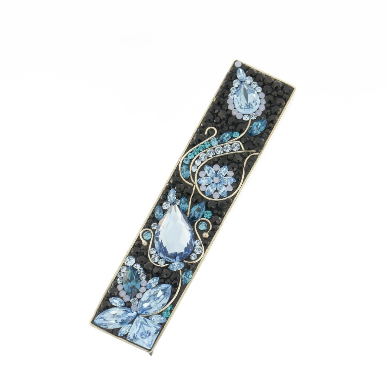 Colier-Katart-K05008-Blue-Black Ribbon-K05008 (4)