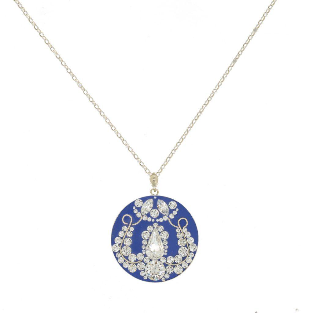 Colier-Katart-Sapphire-Crystal-Clear-Tulip-K05025 (1)